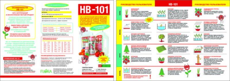 Препарат НВ 101: инструкция по применению и отзывы
